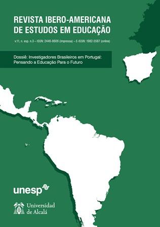 Visualizar v.11, n. esp. 3 (2016) Dossiê: Investigadores brasileiros em Portugal: pensando a educação para o futuro.