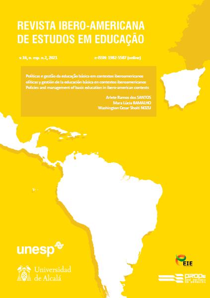 Visualizar (2021) v. 16, n. esp. 2, maio - Políticas e Gestão da Educação Básica em contextos Iberoamericanos