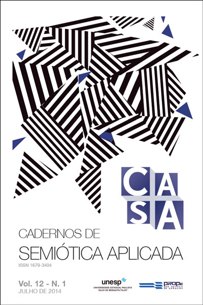 Casa: Cadernos de Semiótica Aplicada, v.12, n.1 (2014)