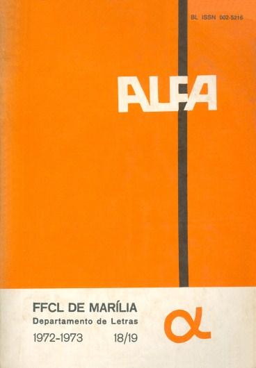 Visualizar v. 18/19 (1972/1973)
