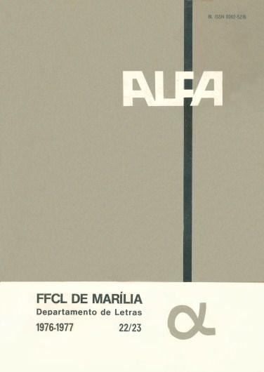 Visualizar v. 22/23 (1976/1977)