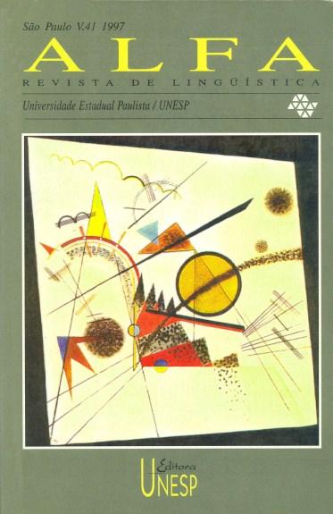 Visualizar v. 41 (1997)