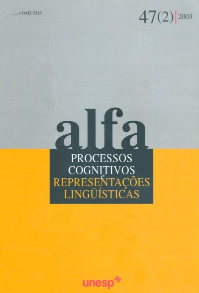 Visualizar v. 47 n. 2 (2003)