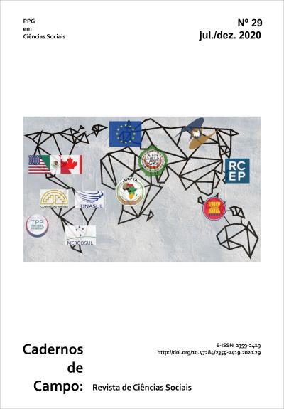 Visualizar n. 29 (2020): Continuidades e descontinuidades na integração regional e no regionalismo: atores domésticos, regionais e instituições